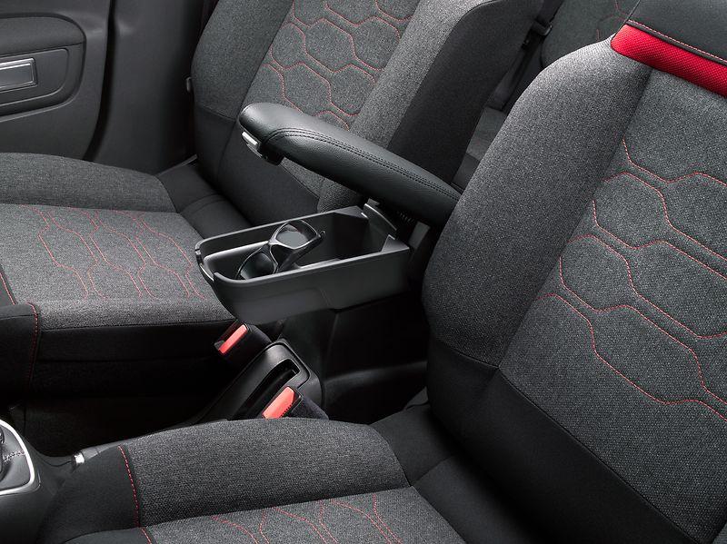 C1615052780 Central front seat armrest, Citroën C3 (B618) - Pörhön Autoliike Oy